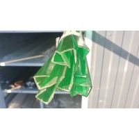 Профиль торцевой 10 мм зеленый